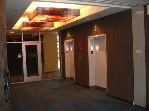 Aloft Orlando hotel Downtown - Won-Door Open Area